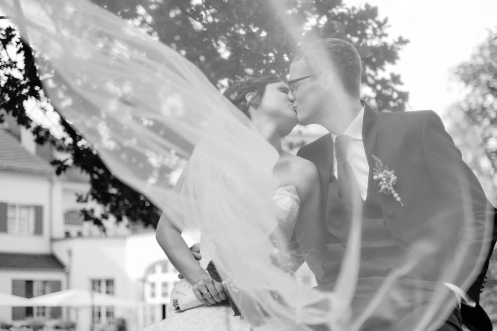 Hochzeitsfoto im Gästehaus Wolfsbrunn  bei Hartenstein