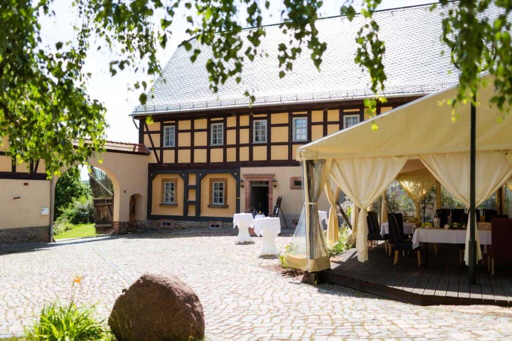 Hochzeit feiern Denkmalhof Schlagwitz