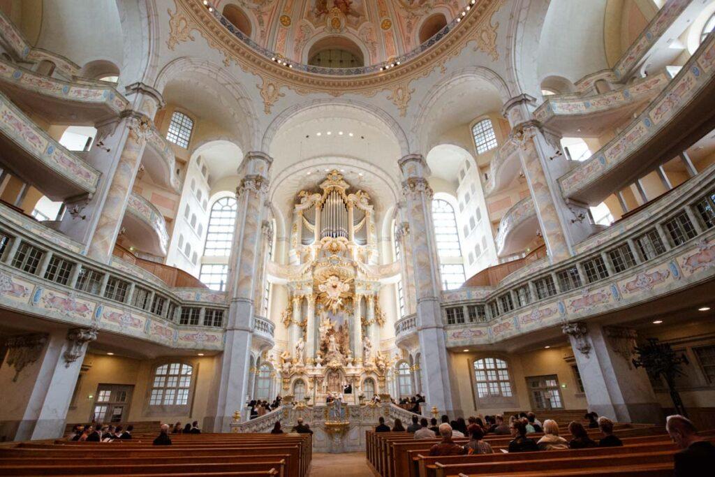 kirchliche Trauung in der Frauenkirche Dresden