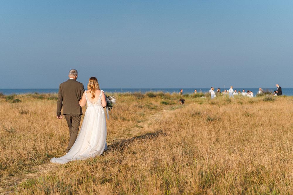 Heiraten und Hochzeit feiern an der Ostsee - Fischland Darss, Insel Rügen, Insel Usedom - am Meer