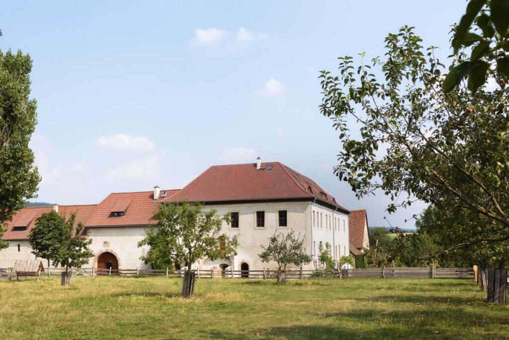 ländliche Hochzeit Rittergut Positz