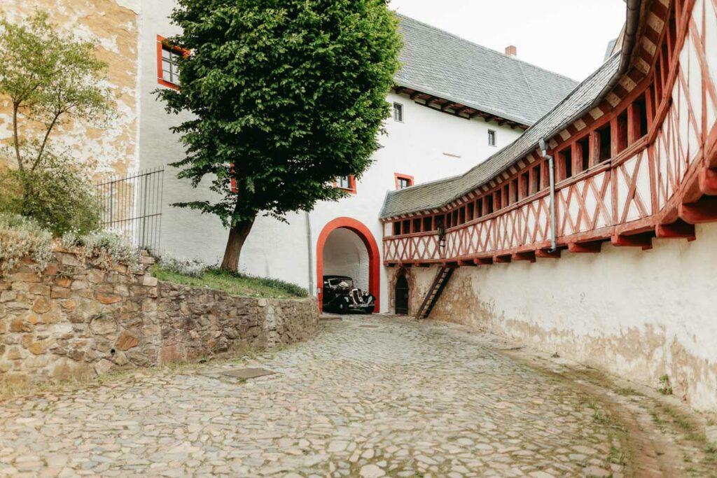 Trauung Hochzeit auf der Rochsburg