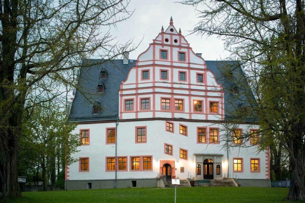 Trauung auf Schloss Ponitz