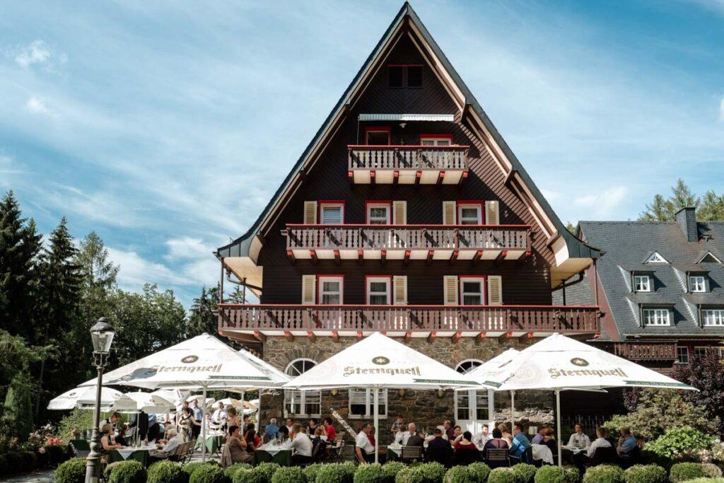 Hochzeit feiern im Waldidyll Hartenstein