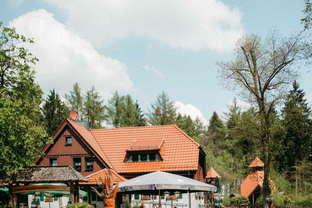 Hochzeit im Werdauer Wald Gaststätte Weidmannsruh