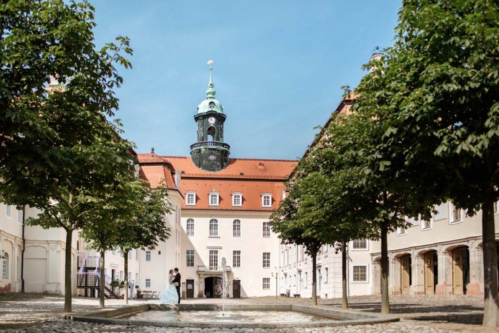Hochzeit Barockschloss Lichtenwalde in Niederwiesa