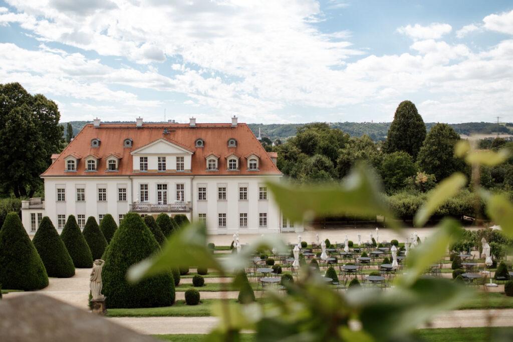 Heiraten und Hochzeit feiern auf Schloss Wackerbarth
