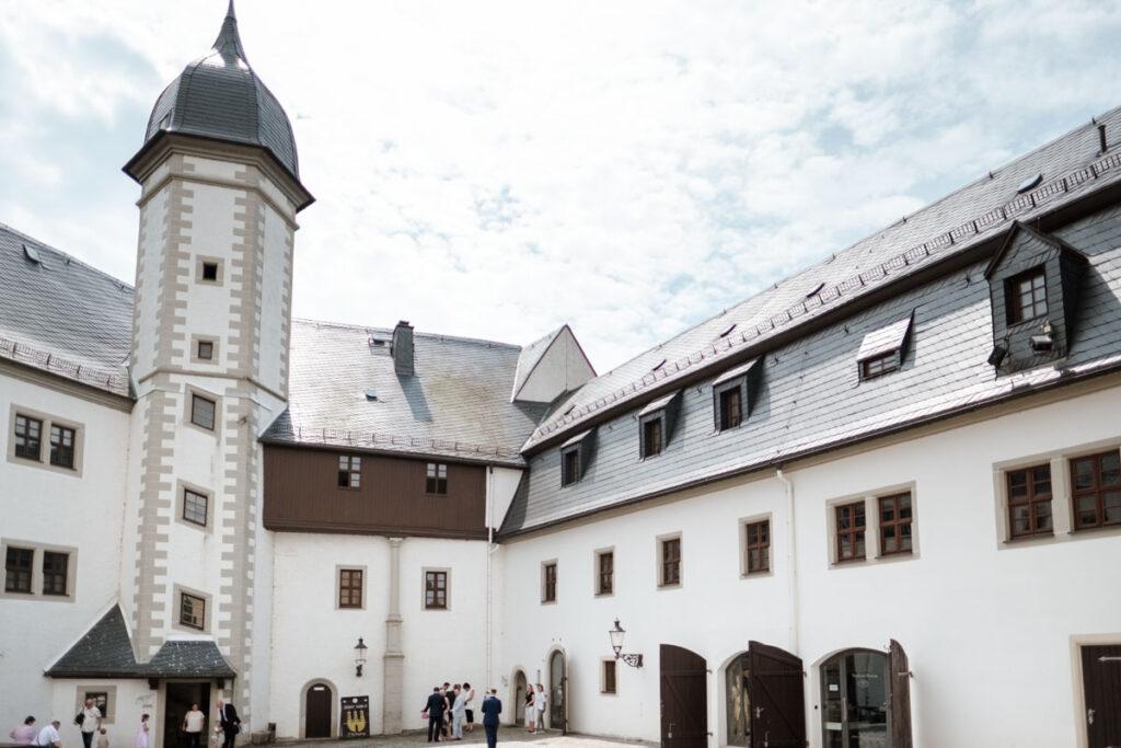 Hochzeit auf Schloss Wildeck Zschopau